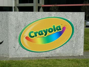 crayola big external sign 2